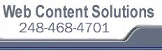 Web Content Solutions