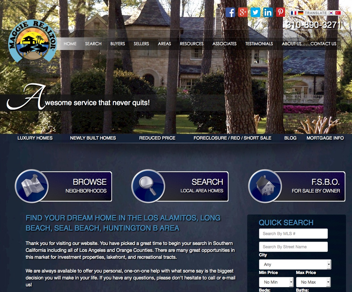 real estate templates choosing a design is just the beginning real estate web template 2