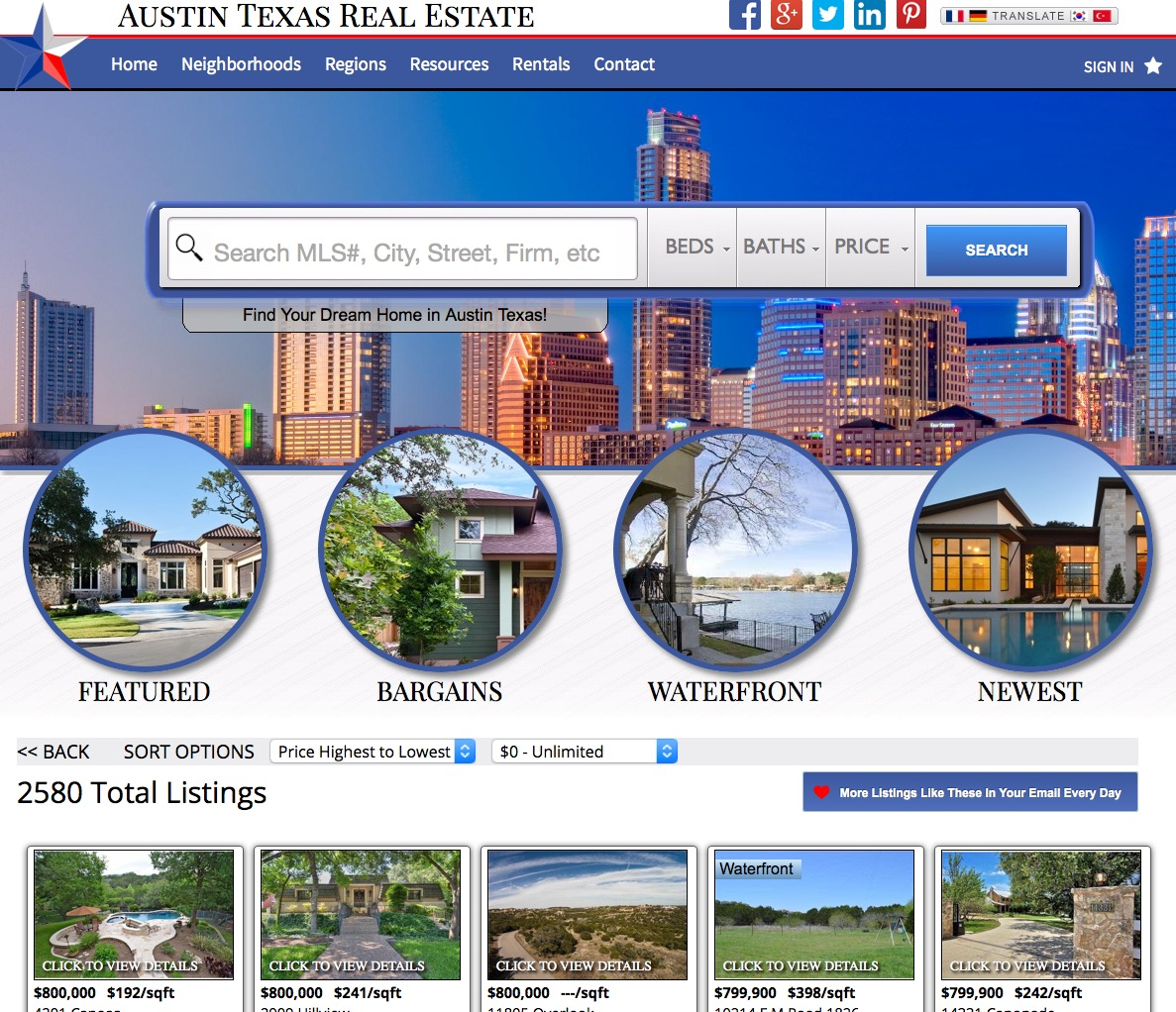 Real Estate Web Template 3